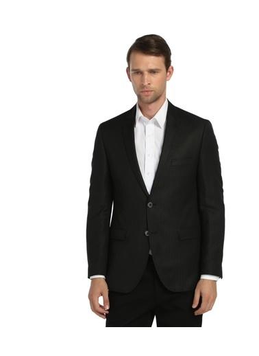 Comienzo Klasik Ceket Siyah